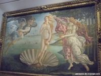 tableau botticelli florence venus