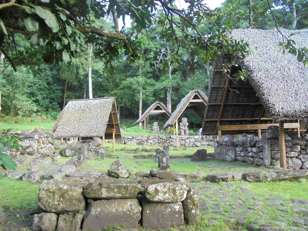 Site archéologique de Lapona, Hiva Oa