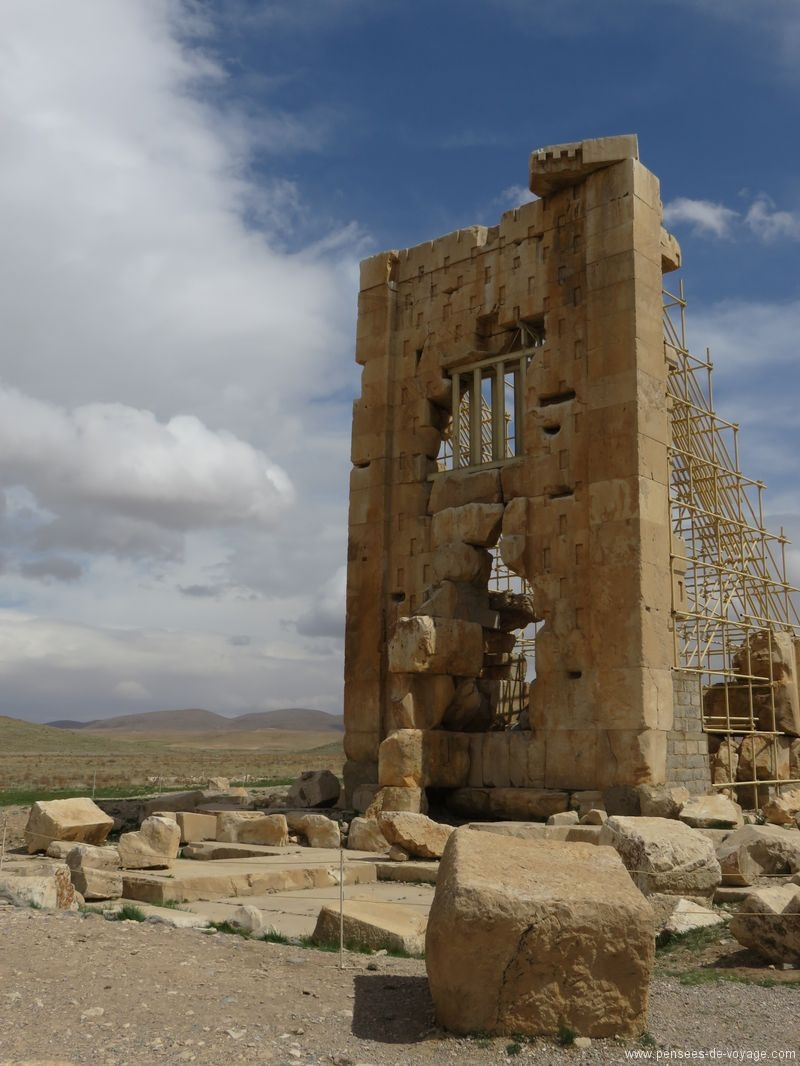 Pasargades ruine