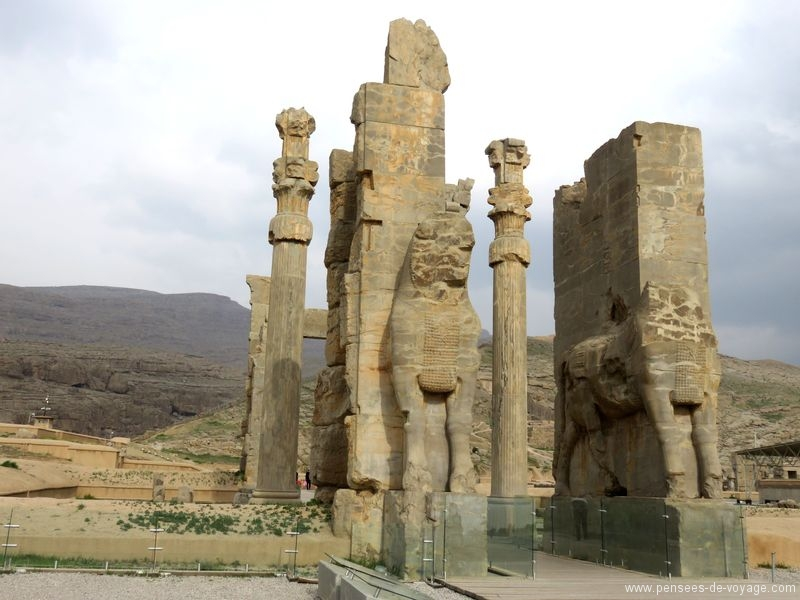 persepolis grande porte Iran