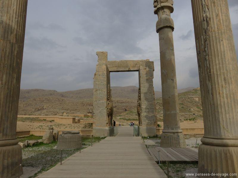 allée de colonnes persepolis