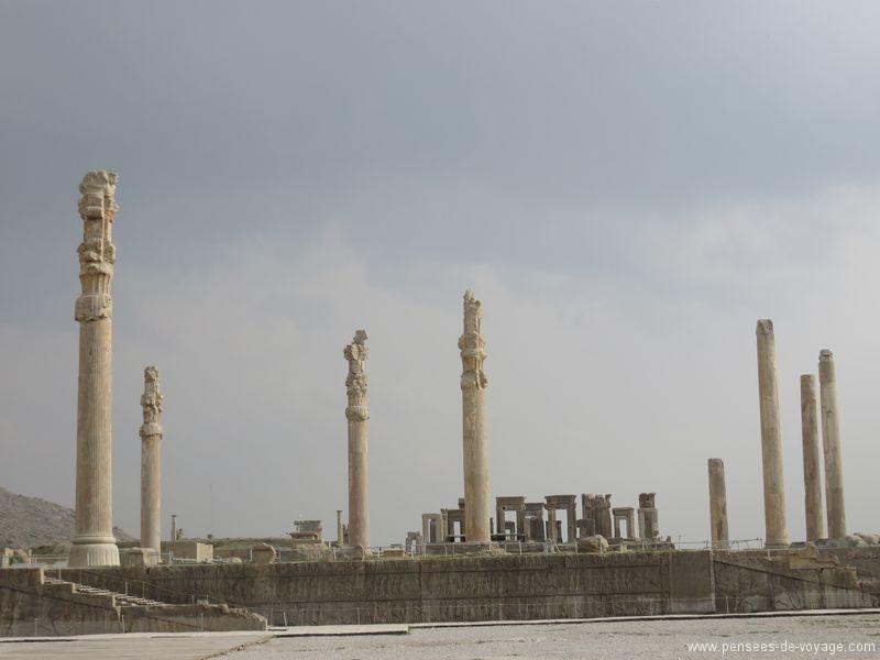 colonnes persepolis