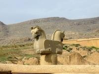 sculpture perse chevaux