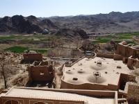 kharanaq et les champs iran