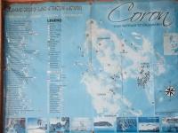 carte touristique coron