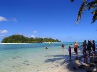 iles cook belle plage tourisme rarotonga