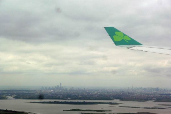 avion pour new york