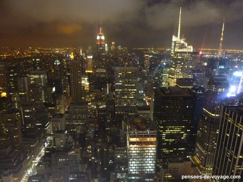 nuit vue New York
