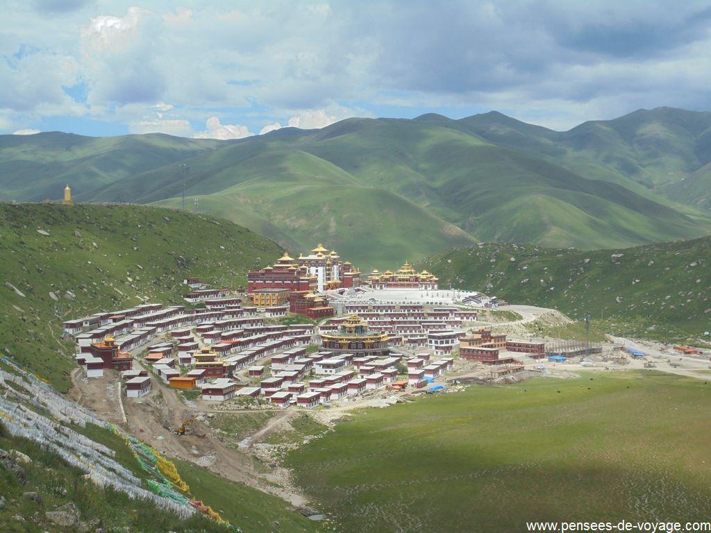 dzogchen monastere randonnee