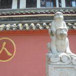 wenshu temple chengdu singes