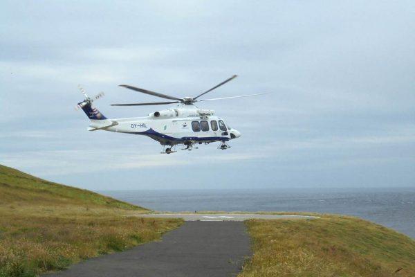 helicoptere torshavn fugloy
