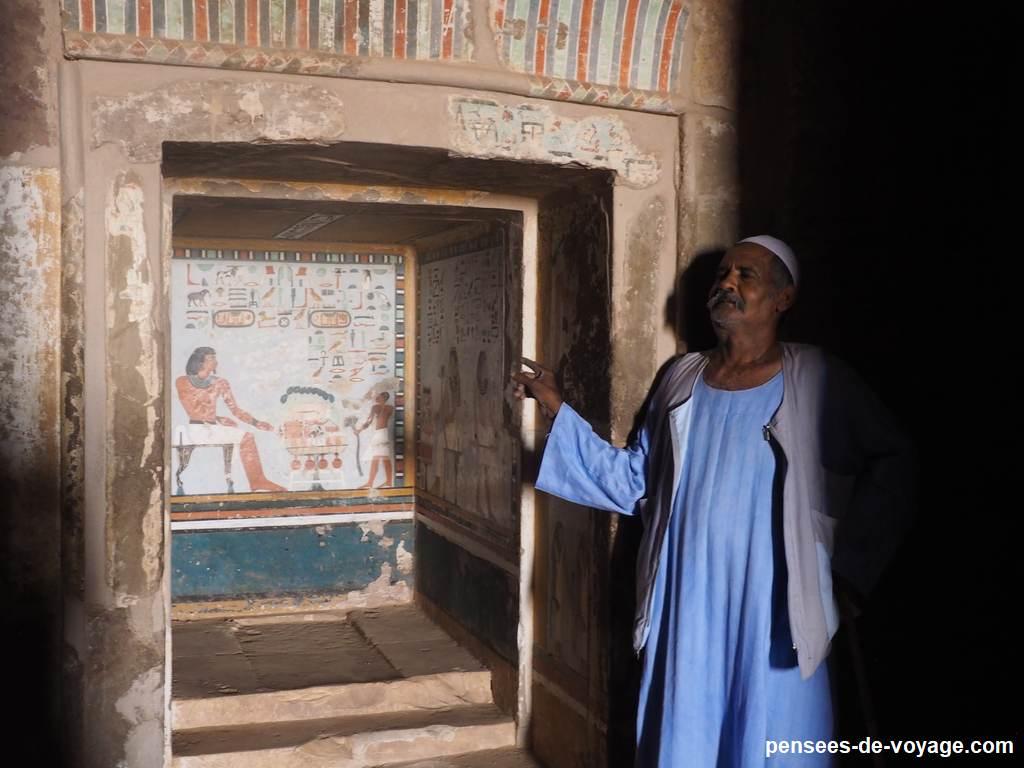 tombeaux des nobles Sarenpout II