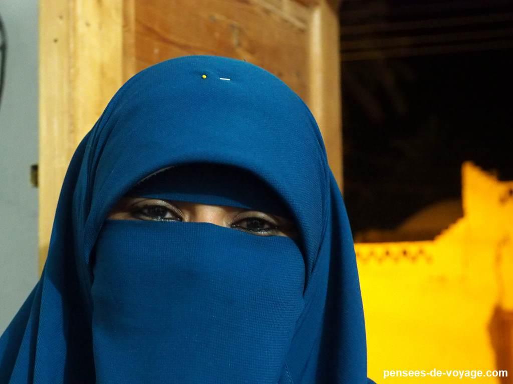 femme egyptienne voilee avec le niqab