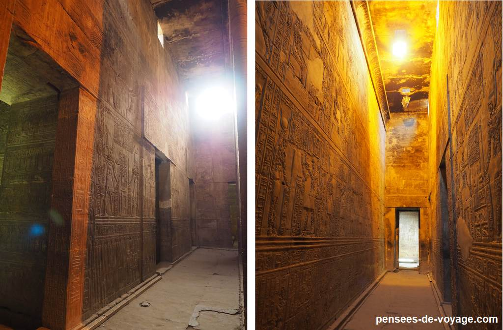 couloirs temple edfu