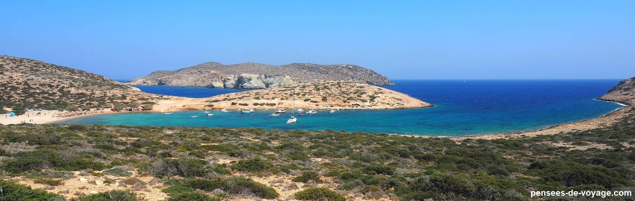 plage de Kalotaritisa