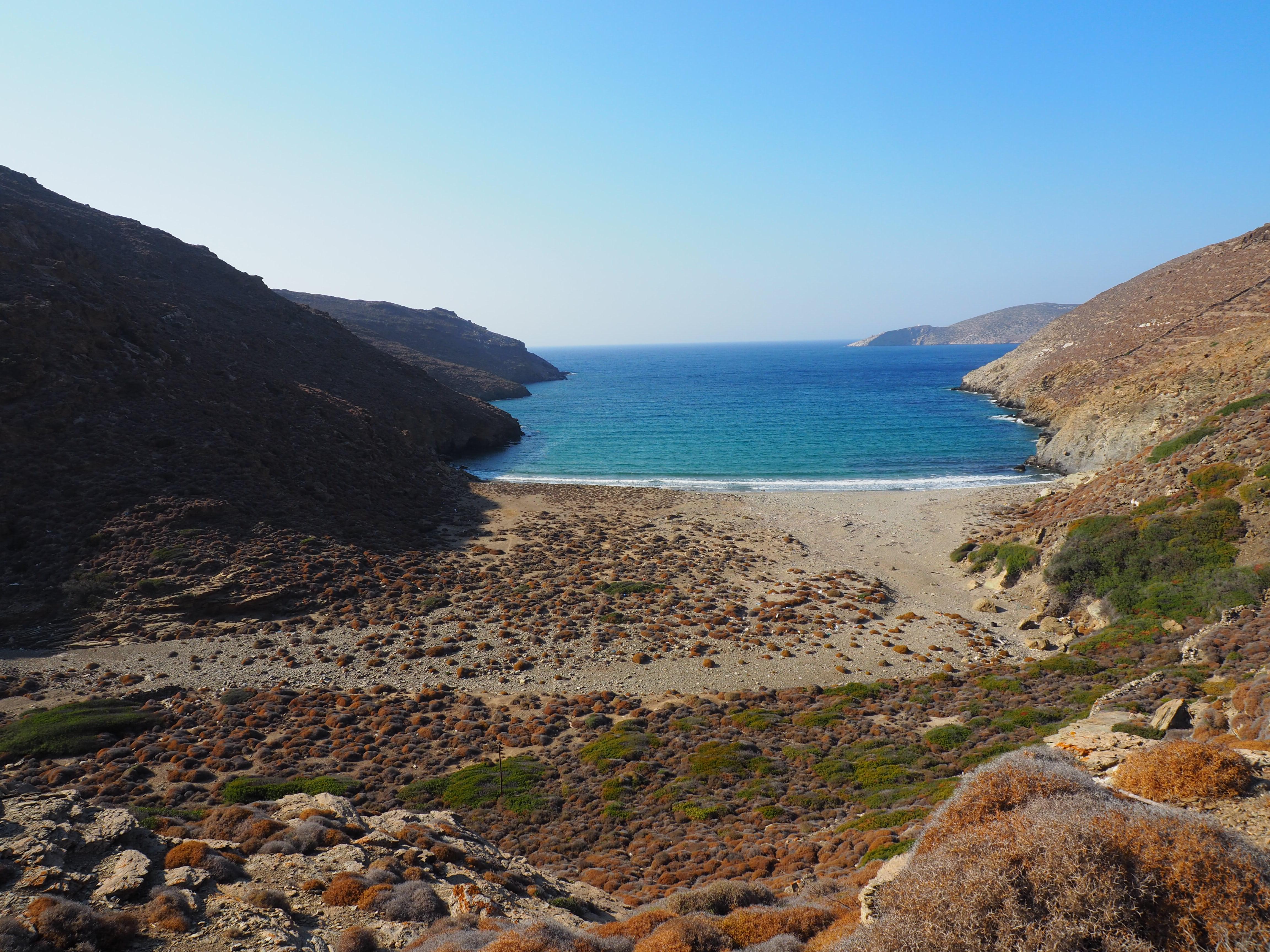 plage de Saranta