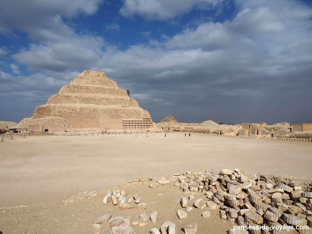 pyramide de djeser