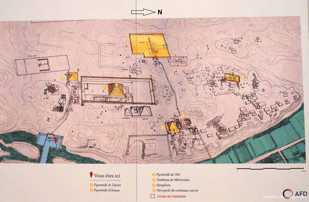 Carte de Saqqara
