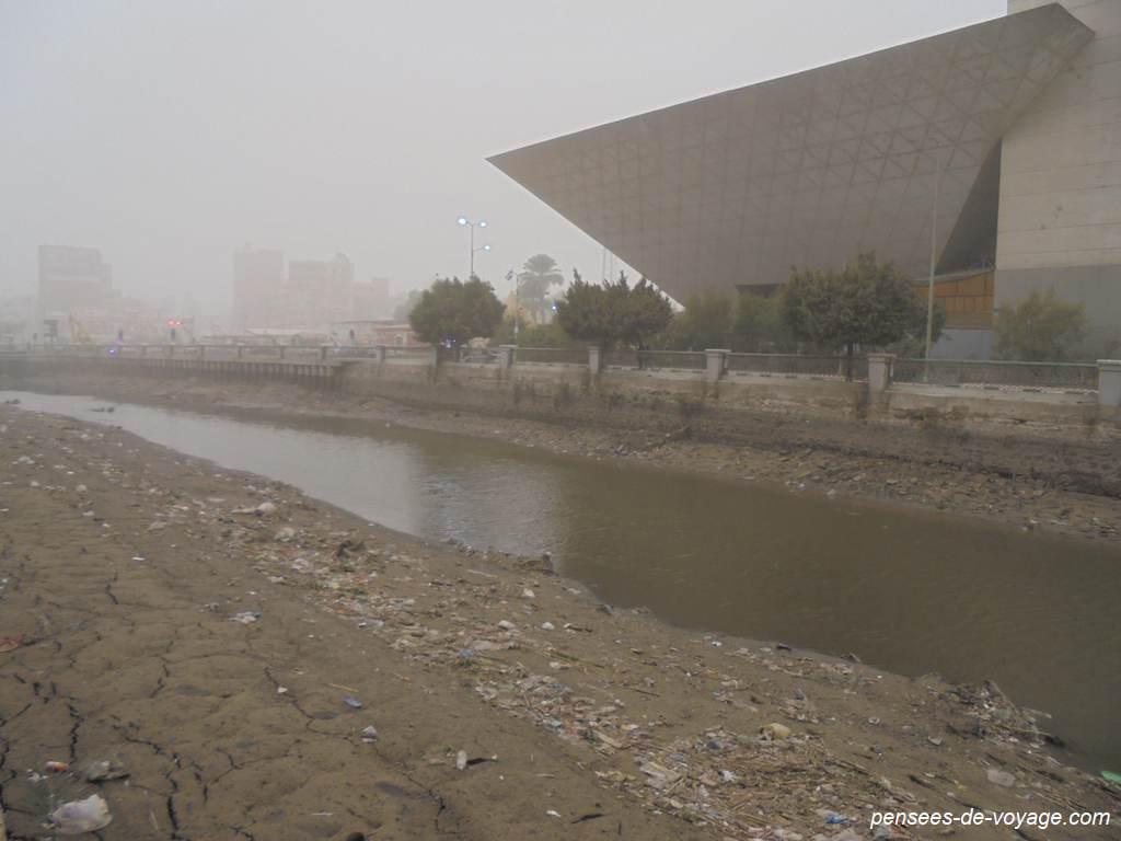 centre de fayoum et pollution