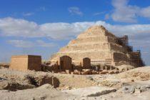 pyramide Doser, nécropole Saqqarah