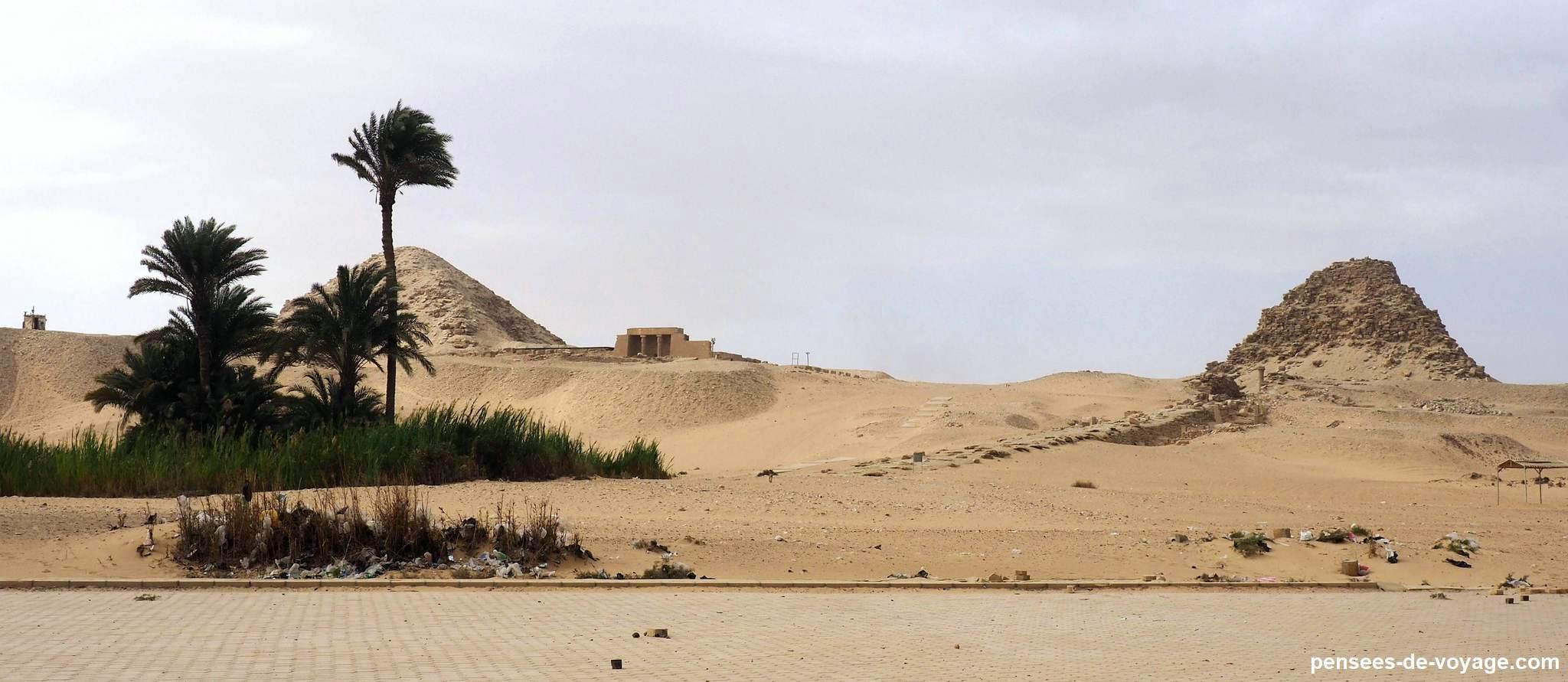 Necropole pyramides Abousir