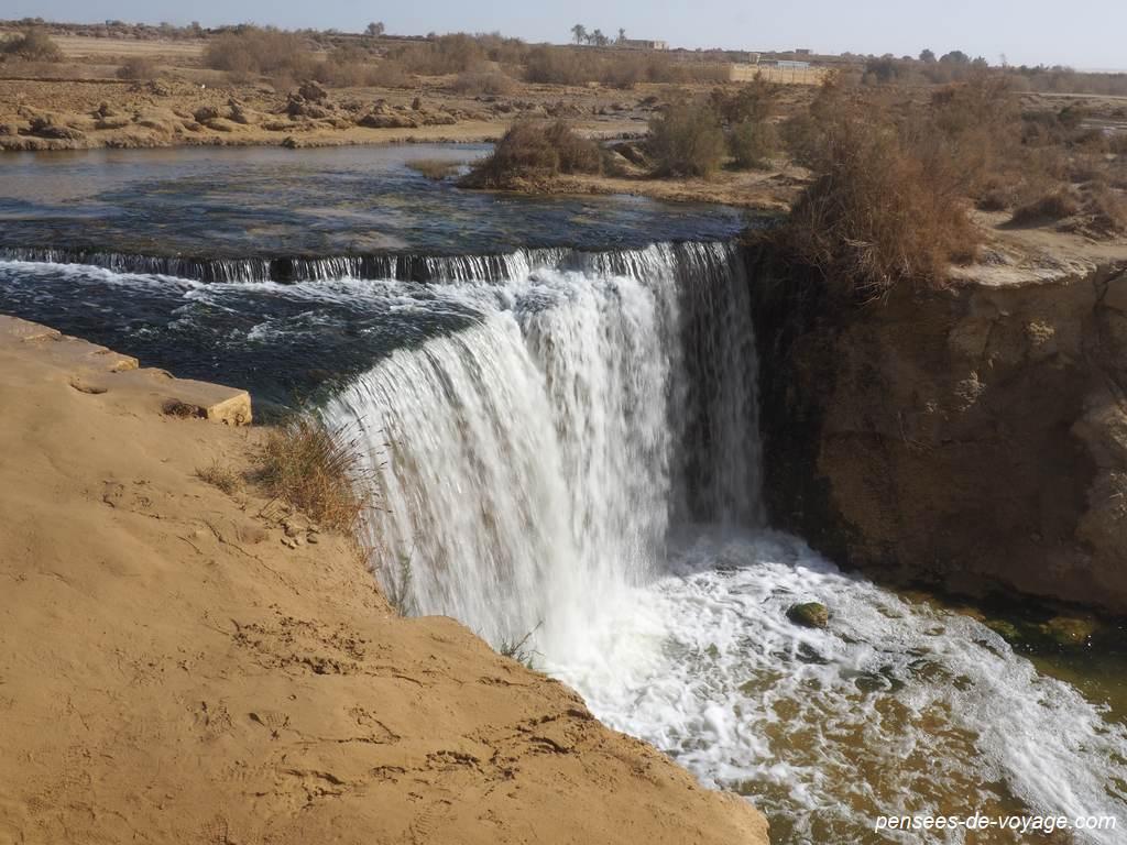 Fayoum, cascade au wadi Al Rayan