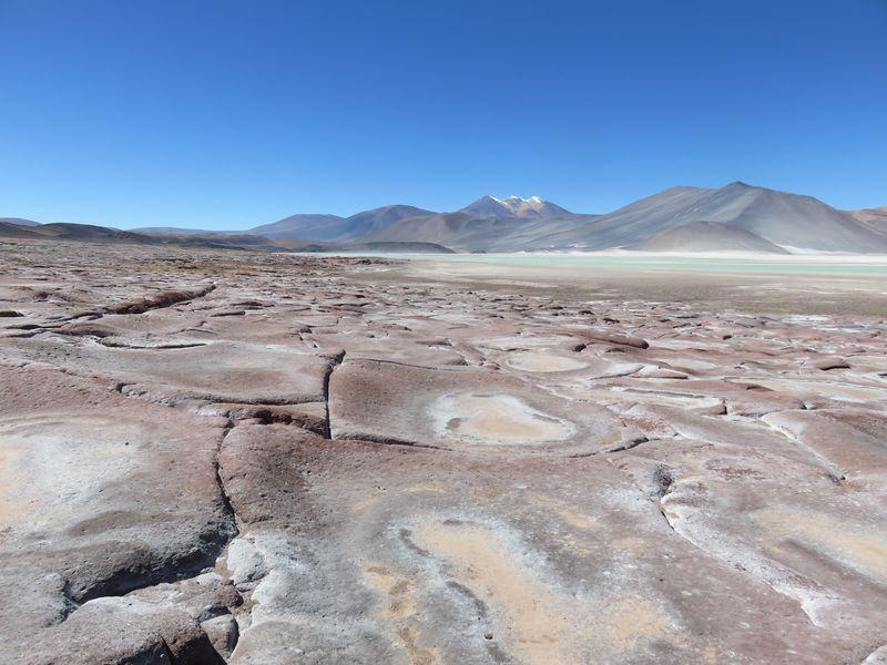 piedras rojas dans le desert d'Atacama