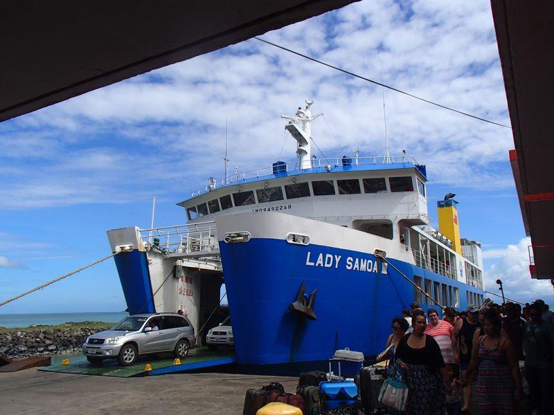 bateau samoa