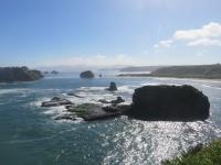 magnifique vue mer et parc de chiloe