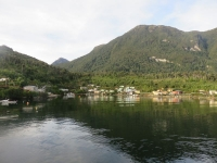 Puerto Aguirre - vue navieraustral