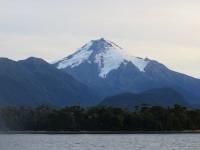 ferry navieraustral - vue sur volvan