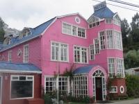 maison colorée castro