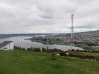 vue de la colline de Castro