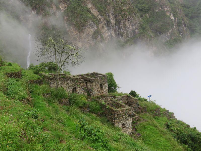 casa de la caida de agua choquiquerao Pacchayoc