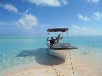 Excursion plage rose bateau