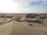 dune du desert d'Iran