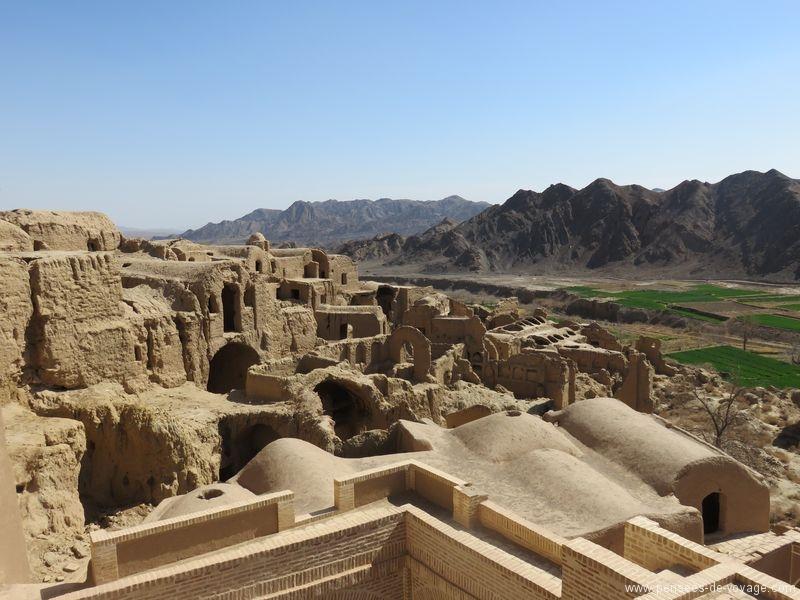 village abandonnée de Kharanaq