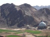kharanaq montagnes et mosquee