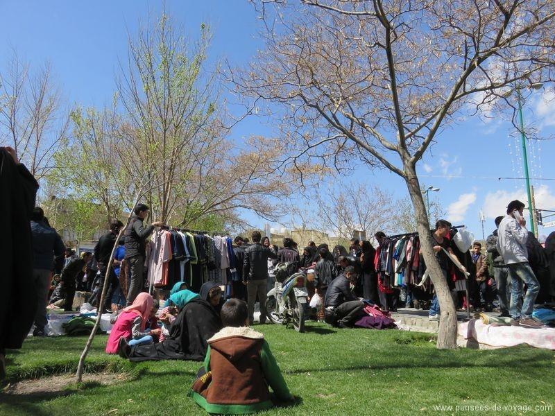 marche plein air iranien