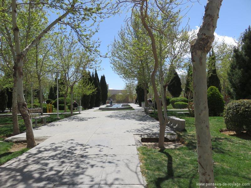 parc verdure ispahan iran