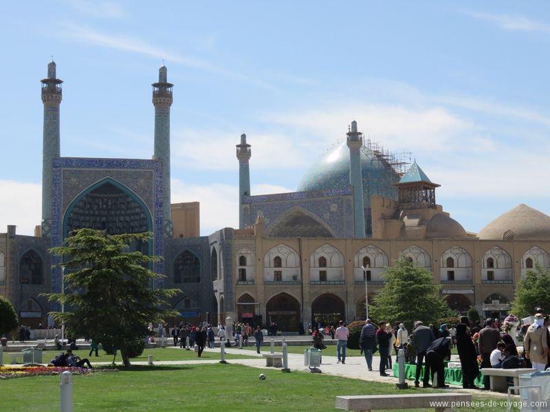 place Naghsh-e Jahan et Mosquée du Chah