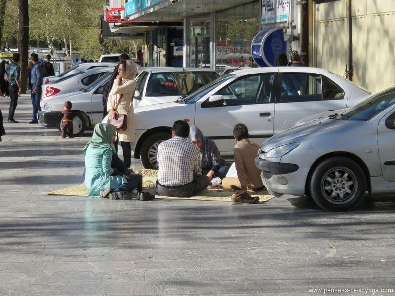 picnic iranien