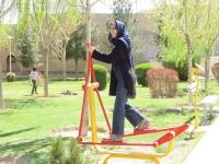 habillement touriste en iran, jeu pour enfant