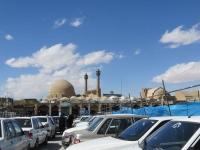 parking devant la mosquée Masjed-e Jāme