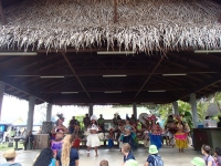 iles cook village danse rarotonga
