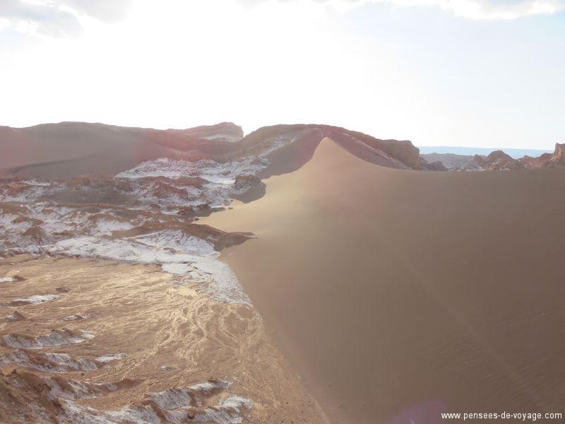 dune de sable desert atacama