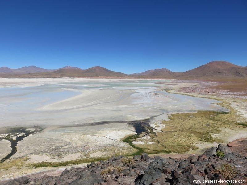 couleur de lac d'altitude, Atacama