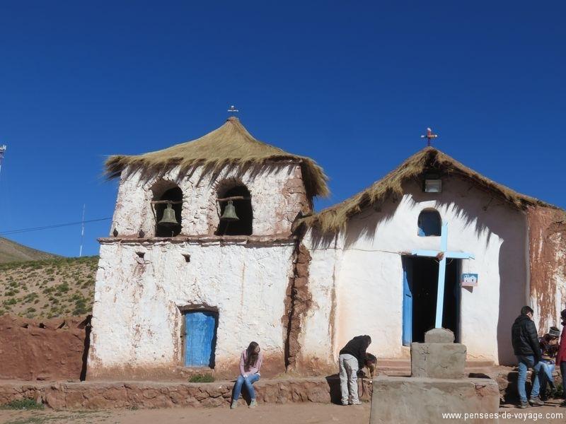 Eglise autour d'Atacama