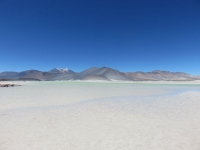 eau transparente d'un lagon chilien